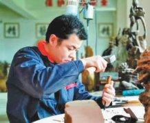 奉湘波——一手雕木艺,雕出好日子